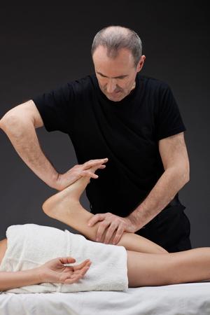 Photo massage ayurvédique