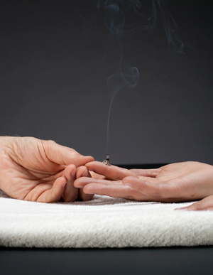 photo su jok moxibustion